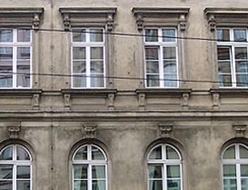 Fassadenmessung Mensa Uni, Leipzig